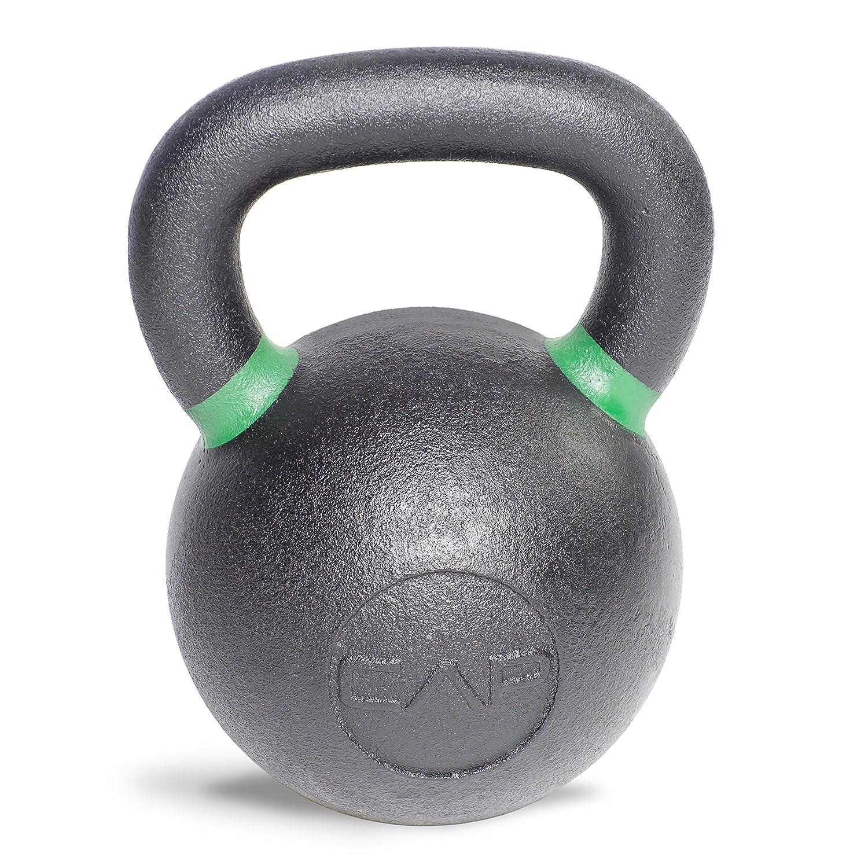 CAP Barbell 鋳鉄コンペティションウェイト ケトルベル B00I6CRMOQ 53-Pound|ブラック/グリーン ブラック/グリーン 53-Pound