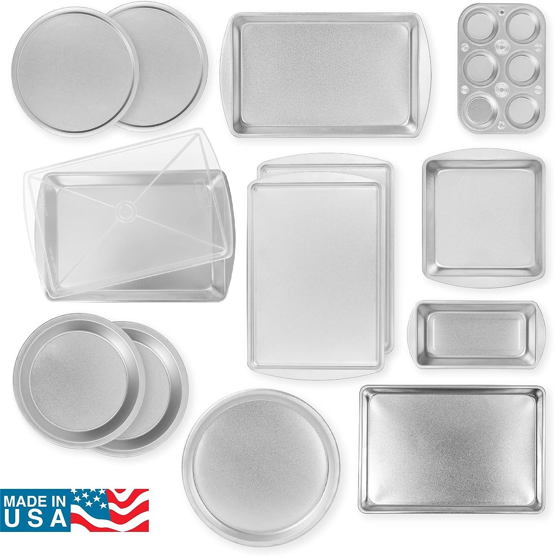 G/&S Metal Products EZ Baker 14 Piece Bakeware Set