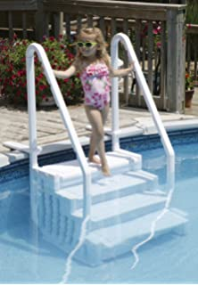 Amazon Com Above Ground Easy Entry Pool Steps By Splashnet