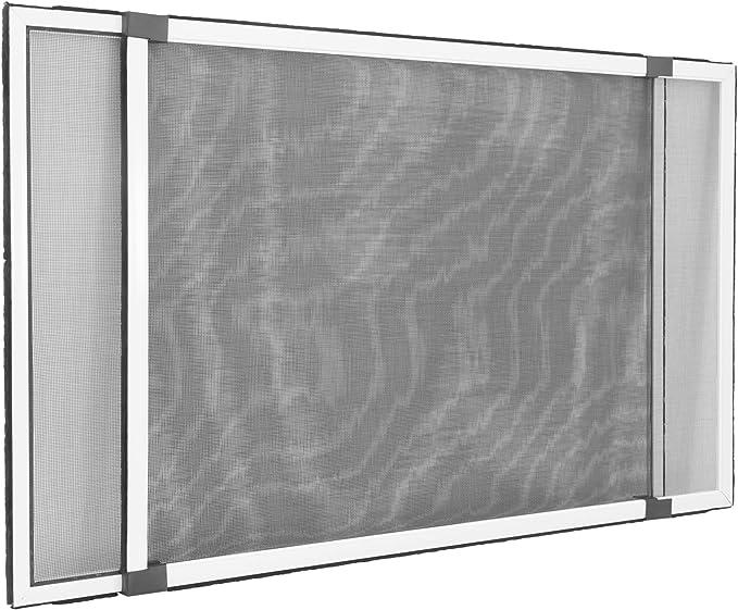 JAROLIFT Mosquitera extensible/Easy Slide para ventanas y puertas con railes de persiana enrollable: Amazon.es: Bricolaje y herramientas