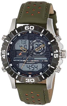 a6cebd7b7c1 Buy Fastrack Analog-Digital Black Dial Men s Watch-38035SL03 Online ...