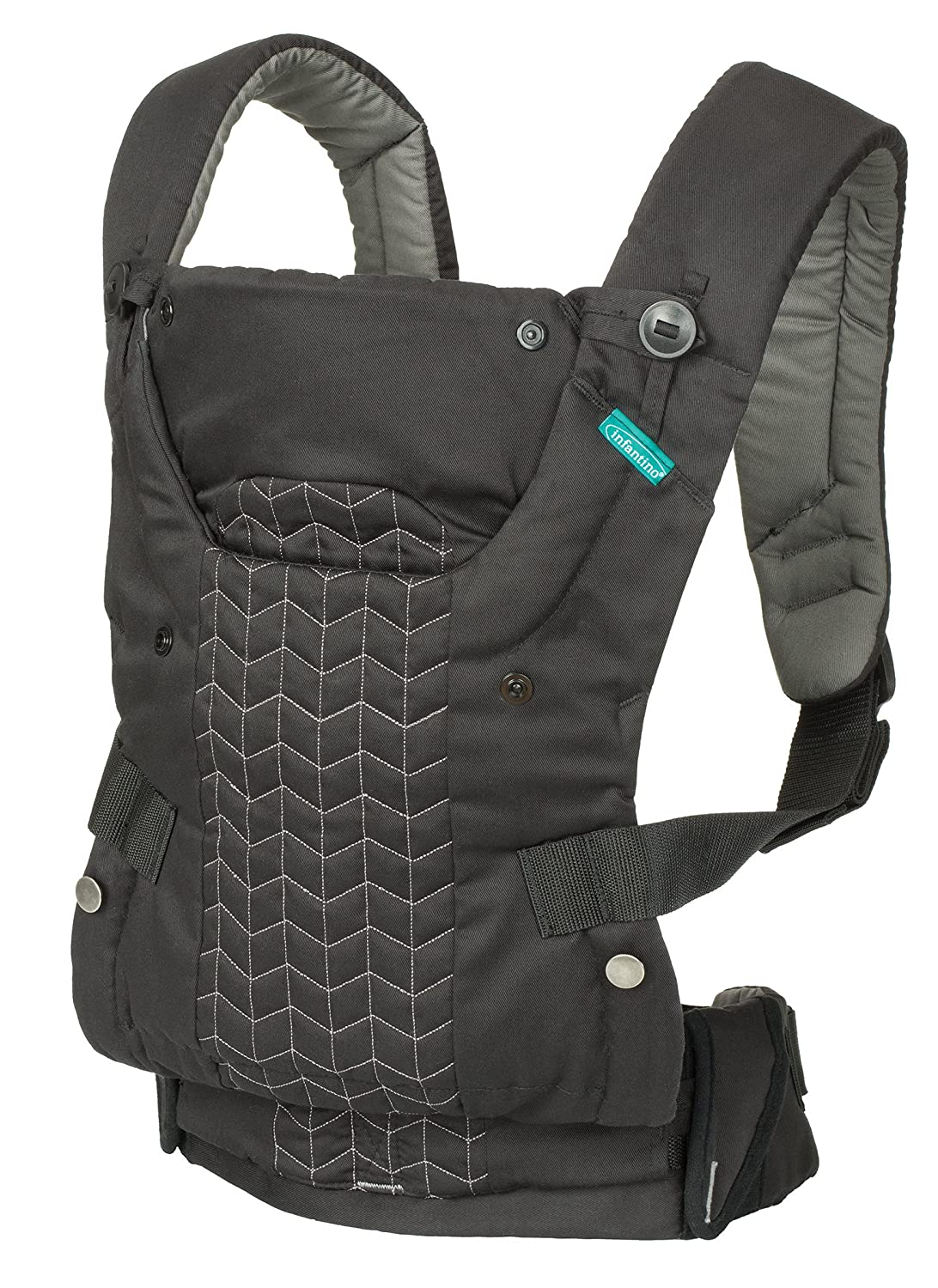 Infantino Upscale Carrier, Black, One Size 200-190