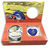 Love Purity Wish Pearl Kit - Harvest Your Own Pearl from a real freshwater Oyster, Comes with Silver Plated Necklace - Great for Gift!