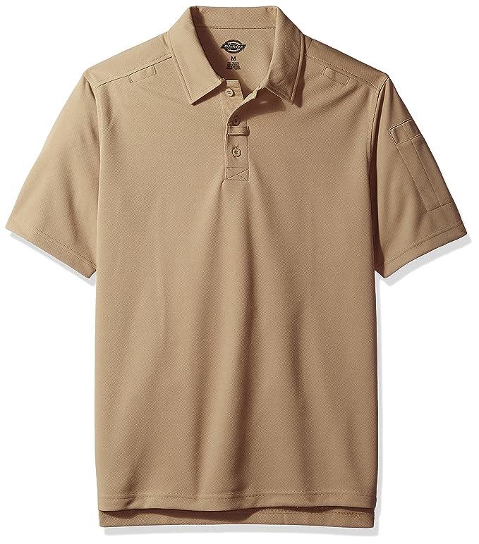68e26b56 Amazon.com: Dickies Men's Short Sleeve Tactical Polo Shirt: Clothing