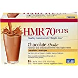 HMR 70 Plus Chocolate Shake, 18 Single-Serve Packets
