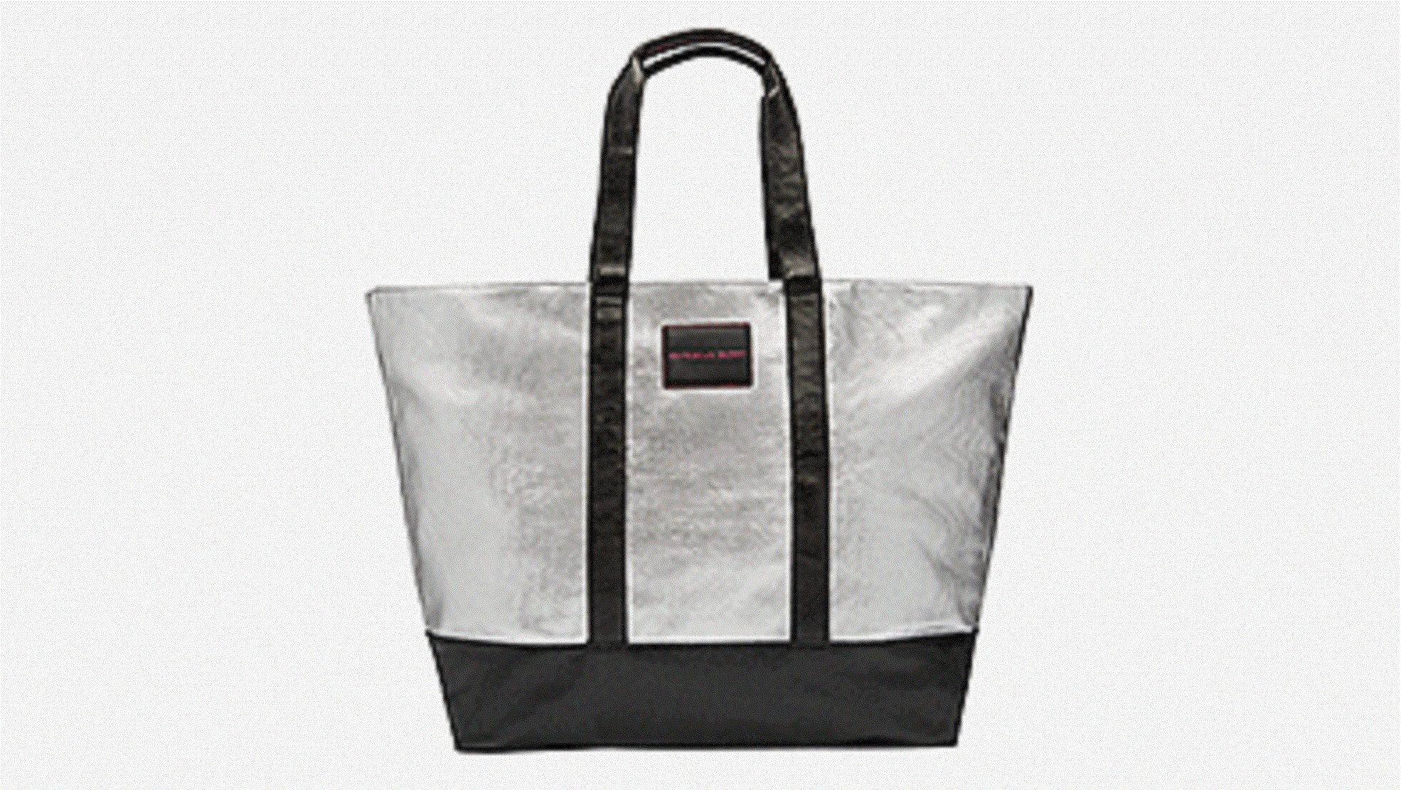 Victoria's Secret Limed Edition Metallic Silver Weekender Tote Bag & Crossbody Duo by Victoria's Secret (Image #3)