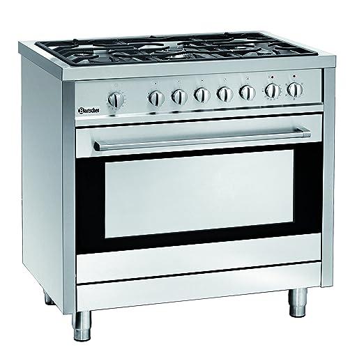 Piano cottura a gas 5 fuochi con forno elettrico 105 litri ...
