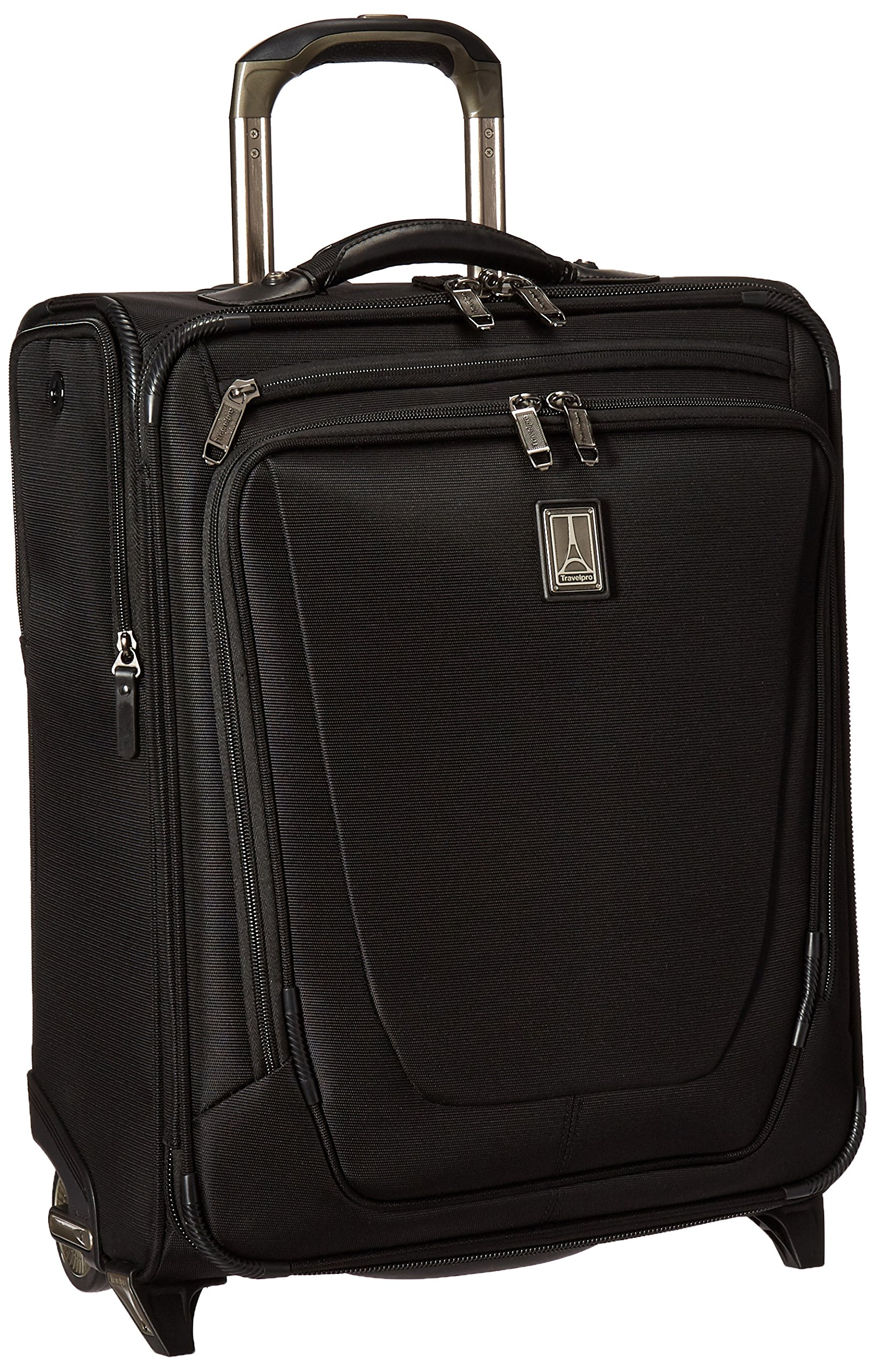 Travelpro Crew 11 20'' International Rollaboard Carry-on Suitcase, Black by Travelpro