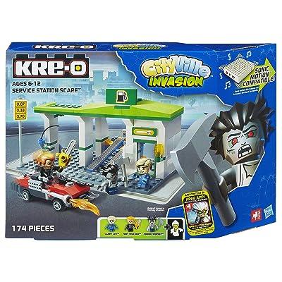 KRE-O CityVille Invasion Service Station Scare Set (A3246): Toys & Games