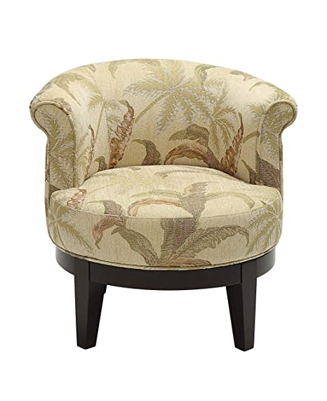 Astounding Amazon Com Treasure Trove 18021 Swivel Accent Chair Brown Caraccident5 Cool Chair Designs And Ideas Caraccident5Info