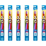 Oral-B Pro-Health Stages My Friends Manual Kid's Toothbrush, (Pack of 6)