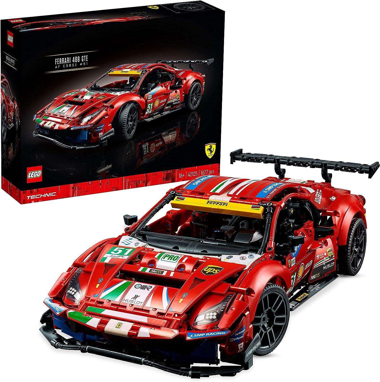 レゴ(LEGO) テクニック フェラーリ 488 GTE AF コルセ #51 42125