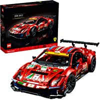 "LEGO 42125 Technic Ferrari 488 GTE ""AF Corse #51"" Super Sports Car Exclusive Collectible Model, Collectors Set for…"