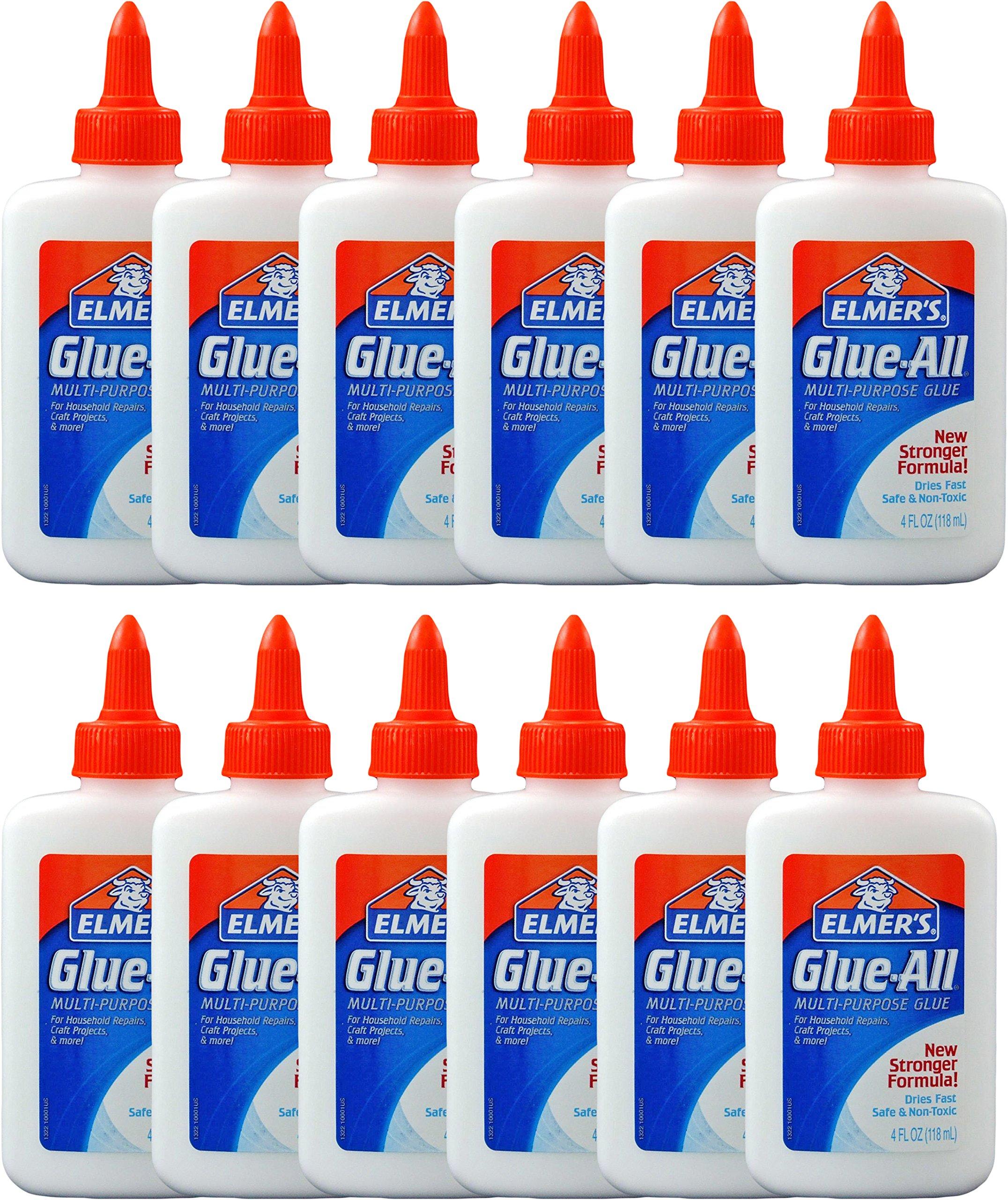 Elmer's Glue All Multi Purpose Glue, 4 Ounces (Pack of 12)