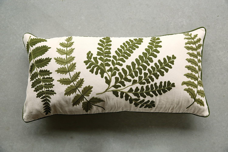 Amazon.com: Creative Co-op da6357 botanist bordado ...