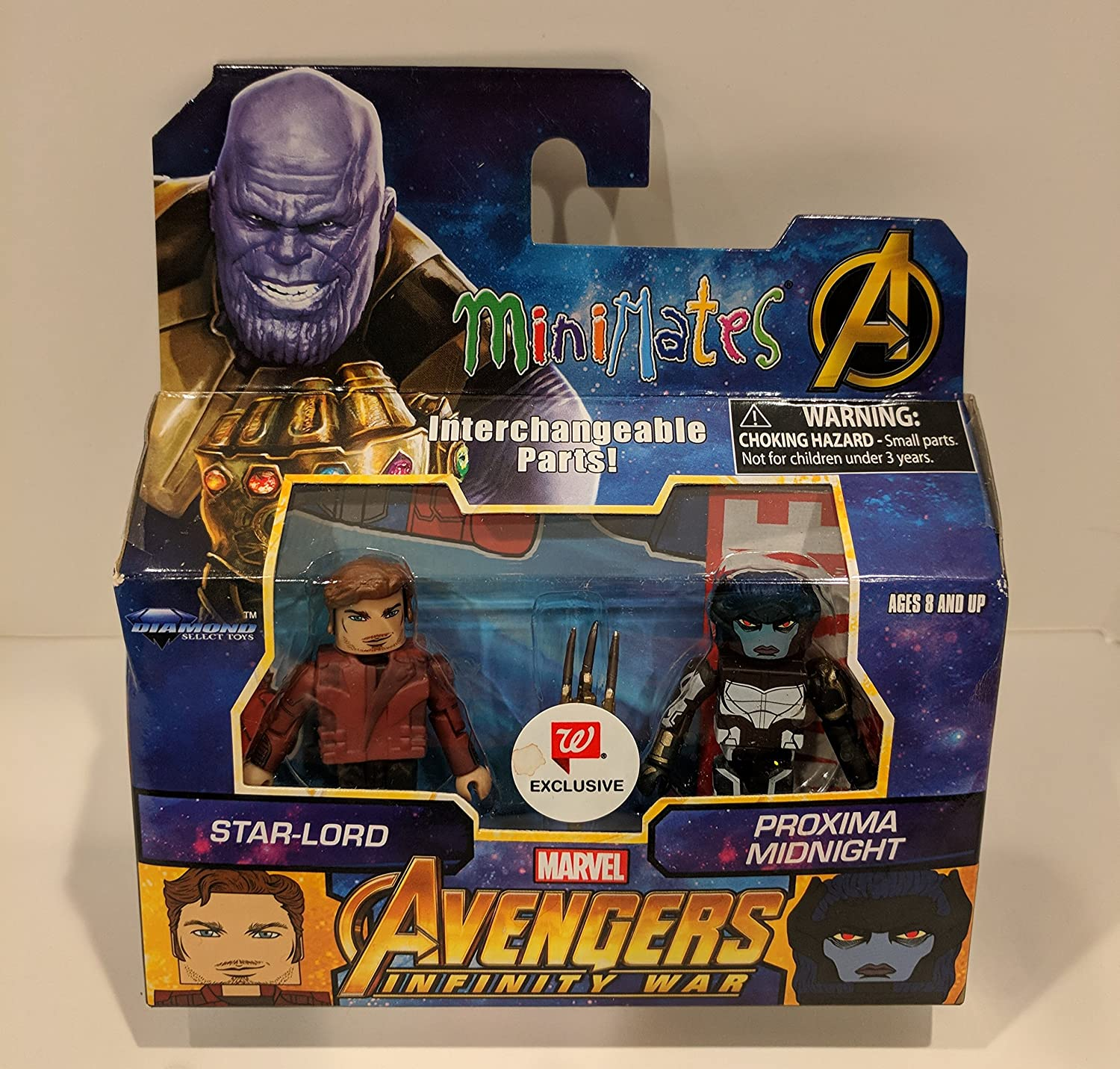 Marvel Minimates WALGREENS Avengers End Game Movie Black Widow /& Ronin