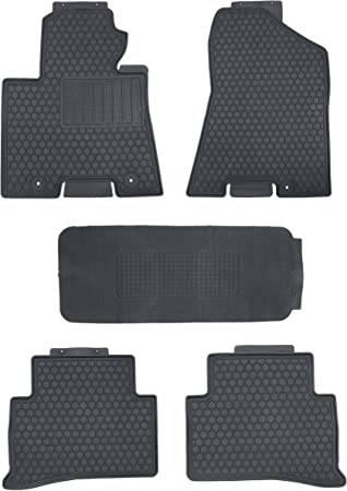 CARORMOKE Cargo Liner Trunk Mat Floor Mat Cargo Tray Black All Weather Protector Compatible with 2017 2018 Mazda CX-5