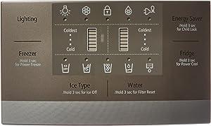 Samsung OEM Original Part: DA97-08118Q Refrigerator Dispenser Cover Assembly
