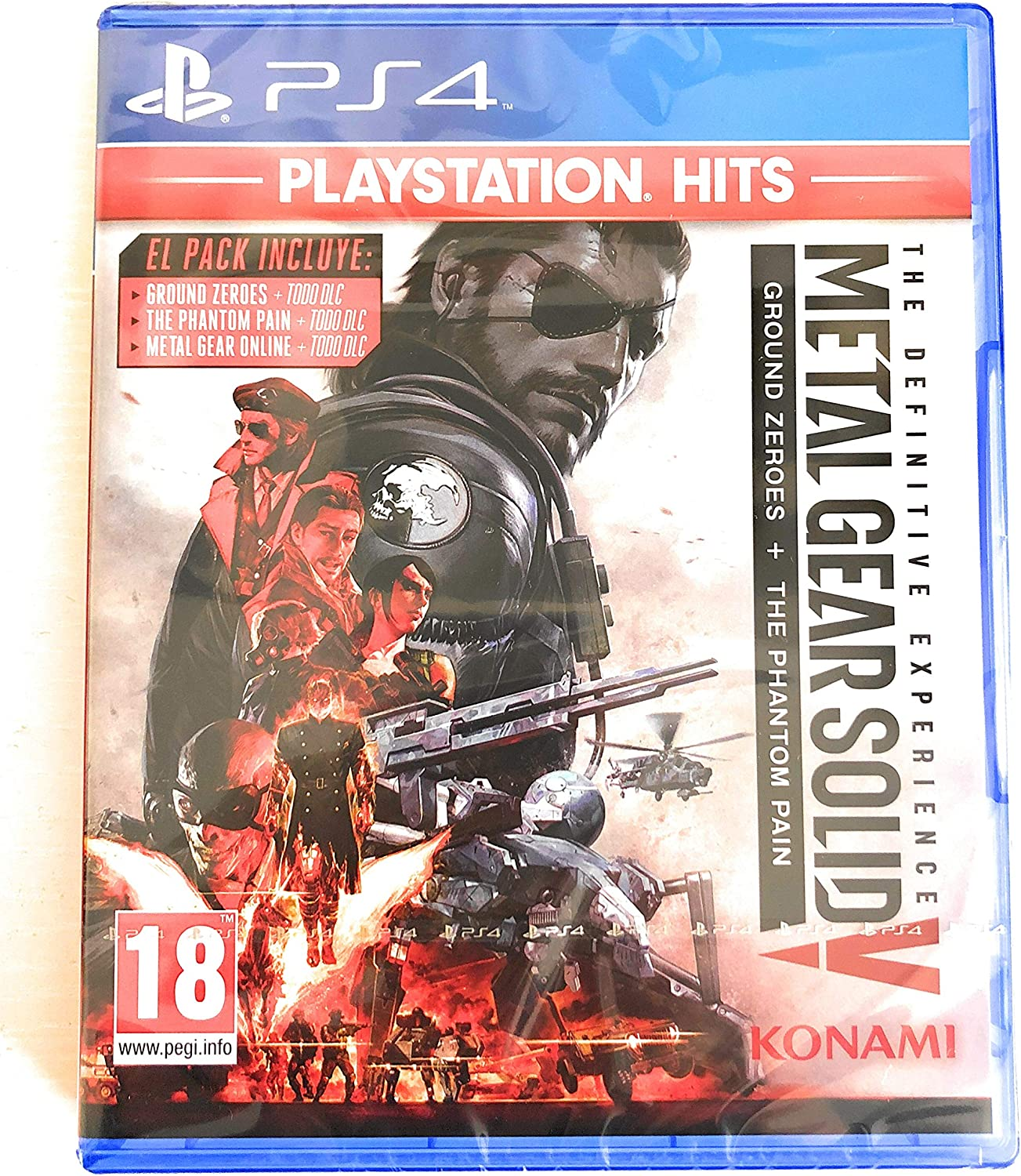 PS4, Juego Metal Gear Solid V: The Definitive Experience ...