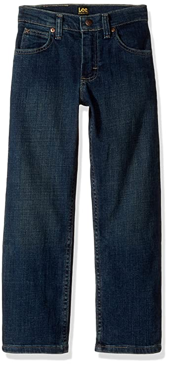 Lee Boys' Premium Select Regular Fit Straight Leg Jeans