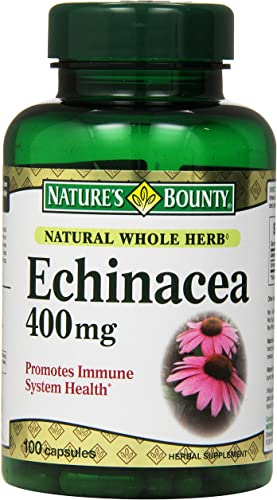 Nature s Bounty Echinacea 400 Mg., 100 Capsules