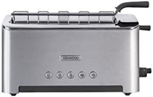 Kenwood TTM610 Persona Collection Toaster with Adjustable Toasting Slot and Sandwich Basket, Silver