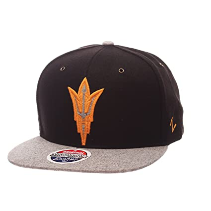 free shipping 54948 a4d42 Image Unavailable. Image not available for. Color  Zephyr NCAA Arizona  State Sun Devils Adult Men s Executive Snapback Hat, Adjustable ...