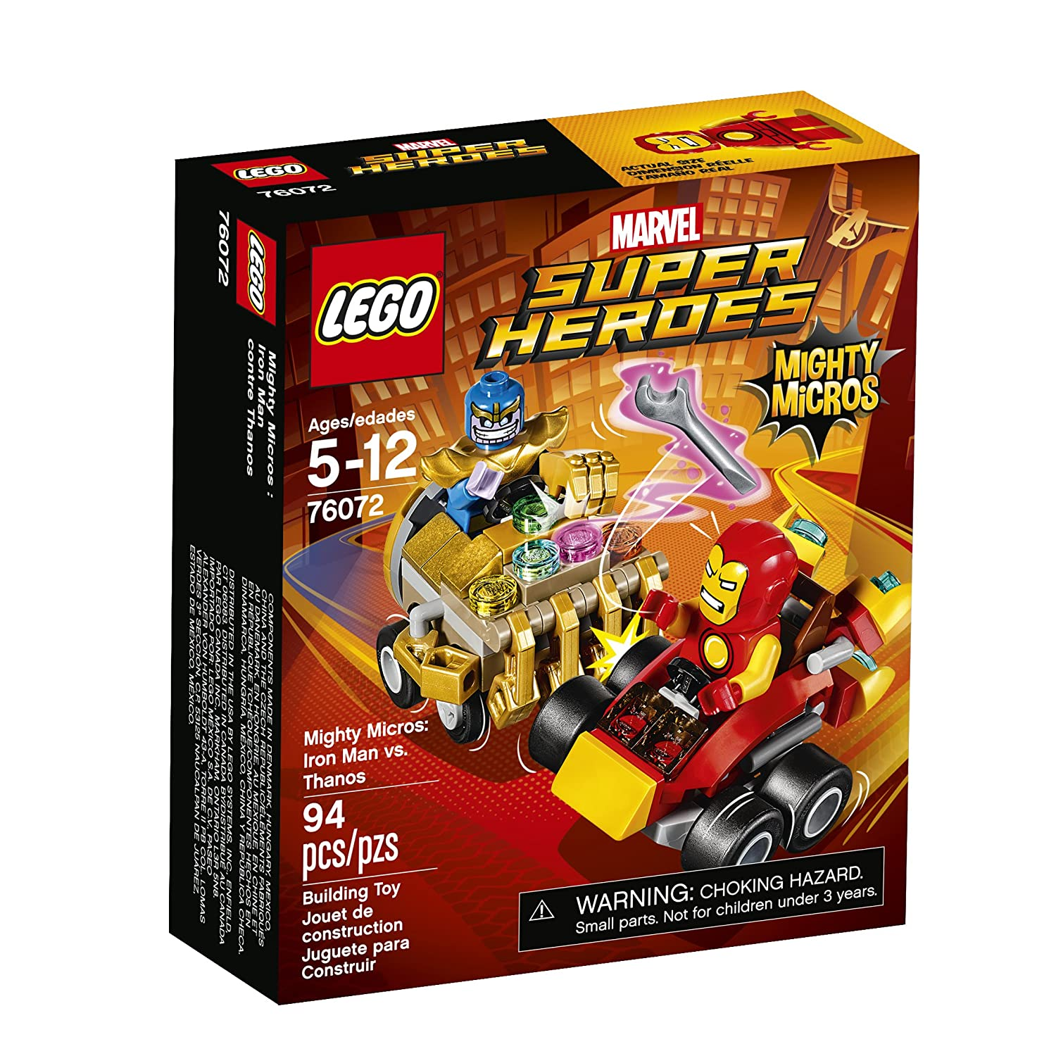 LEGO Super Heroes Mighty Micros: Iron Man Vs. Thanos