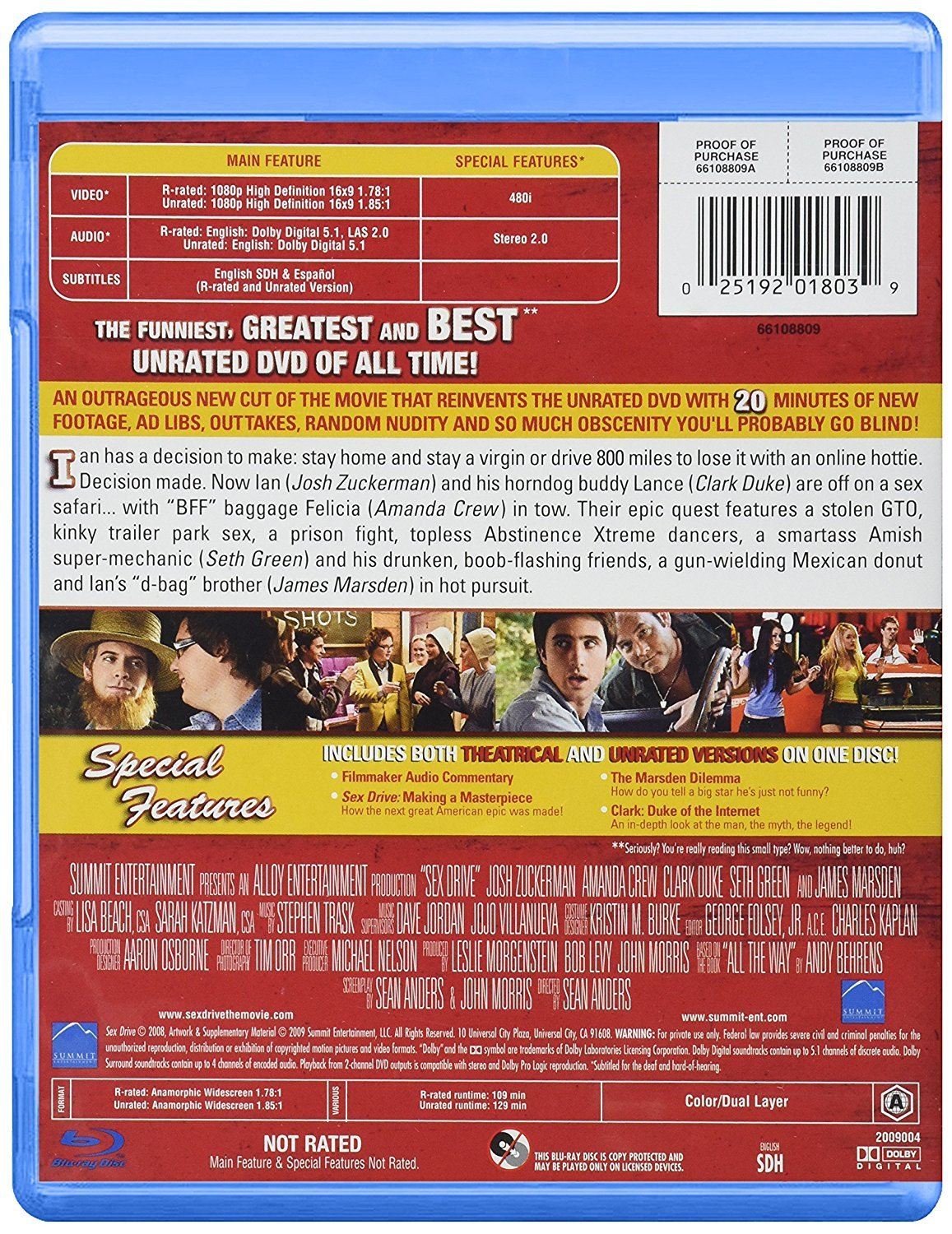 Amazon.in  Buy Sex Drive - Unrated and Cream-Filled (Uncut)  Bu-ray  (2008)   8aa2311ef