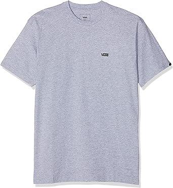Vans Left Chest Logo tee Camiseta para Hombre: Amazon.es: Ropa y accesorios