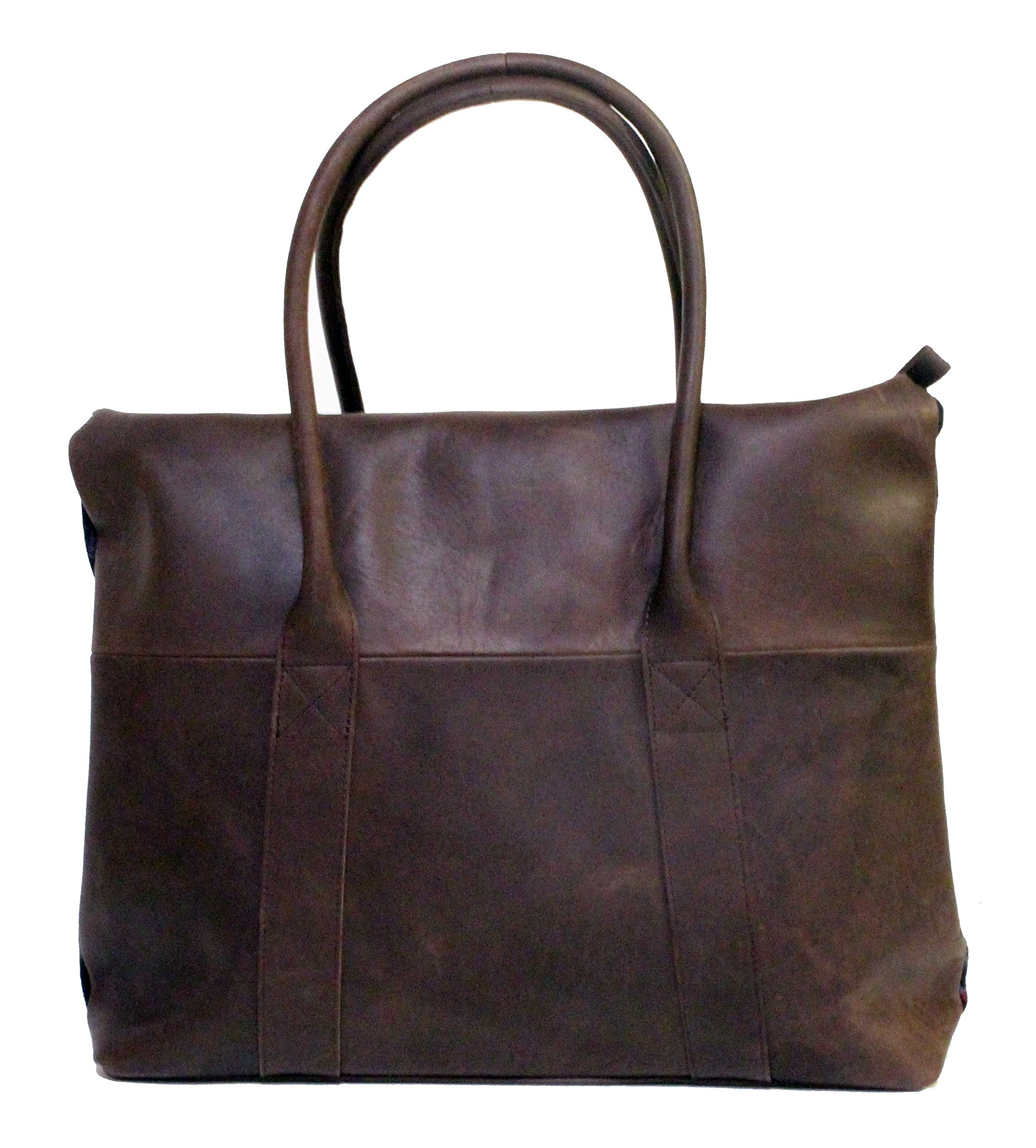 Pendleton Black Coyote Butte Leather Travel Tote | Carry All | Bag by Pendleton Woolen Mills (Image #3)