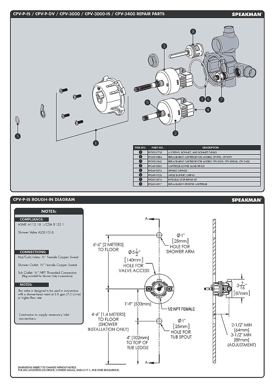 1//4 1//4 Standard Plumbing Supply 2 Piece Red-White Valve 14RW5044AB Lead Free Industrial Full Port Ball Valve