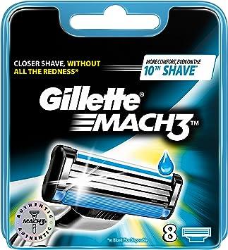 Gillete Afeitadora - pack de 8: Amazon.es: Salud y cuidado personal