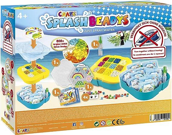 Amazon.com: CRAZE Fuse Splash BEADYS XL Starter-Studio Craft ...