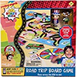 Far Out Toys Ryan's World Road Trip Board Game - Includes Collectible Figurines, Micro Figure Cards & Surprise Suitcase…