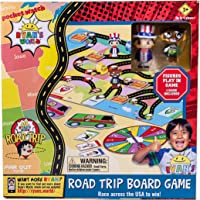 Far Out Toys Ryan's World Road Trip Board Game | Includes Collectible Figurines, Micro Figure Cards, and Surprise…