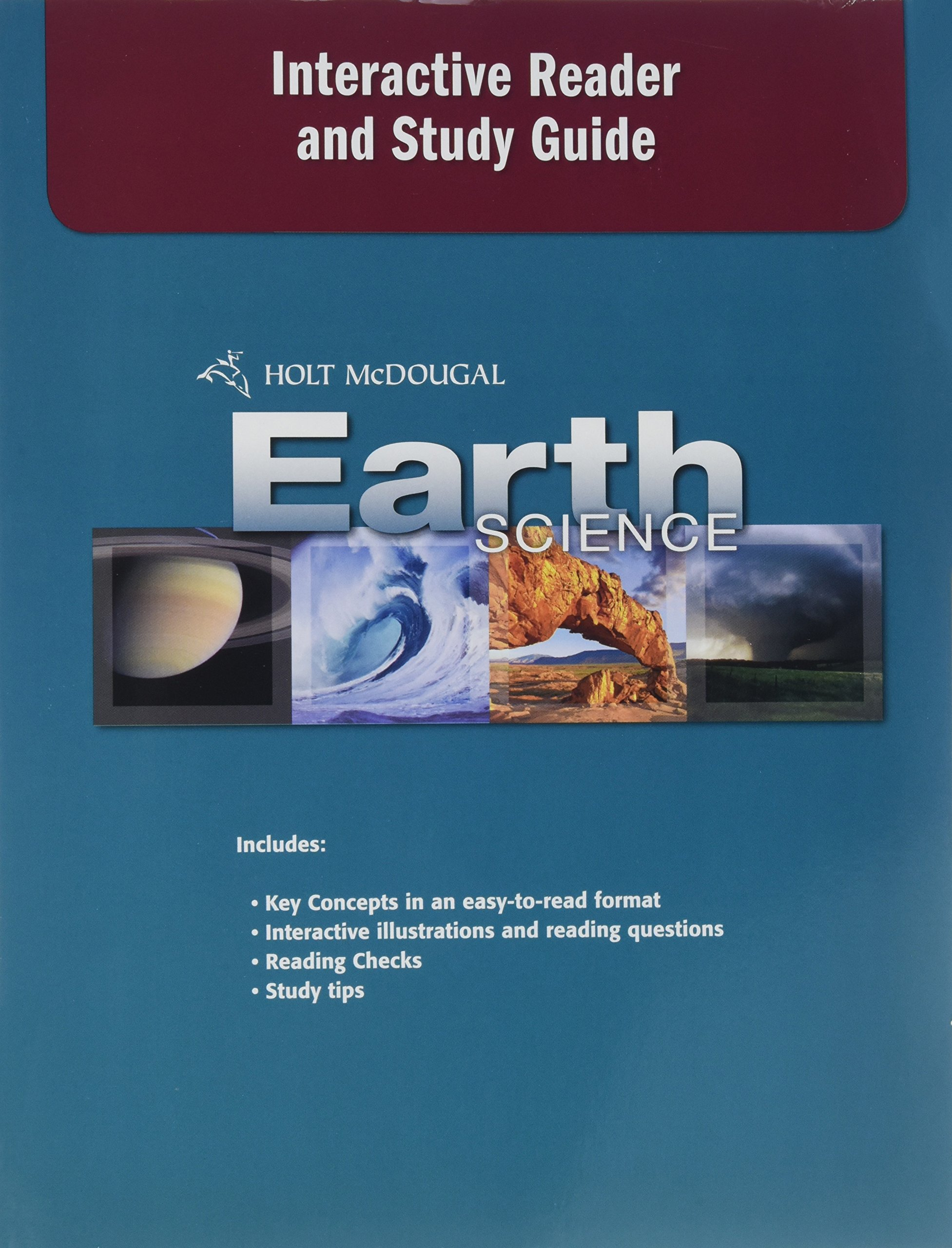 Holt McDougal Earth Science: Interactive Reader and Study Guide: HOLT  MCDOUGAL: 9780554033419: Amazon.com: Books