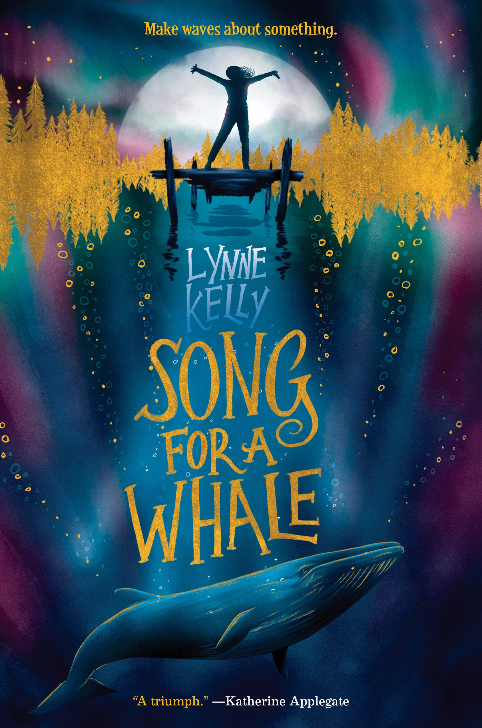 Cover art for the book entitled Song for a Whale
