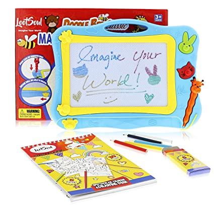 Amazon.com: Magnetic Drawing Board for kids - Coloring Book for ...