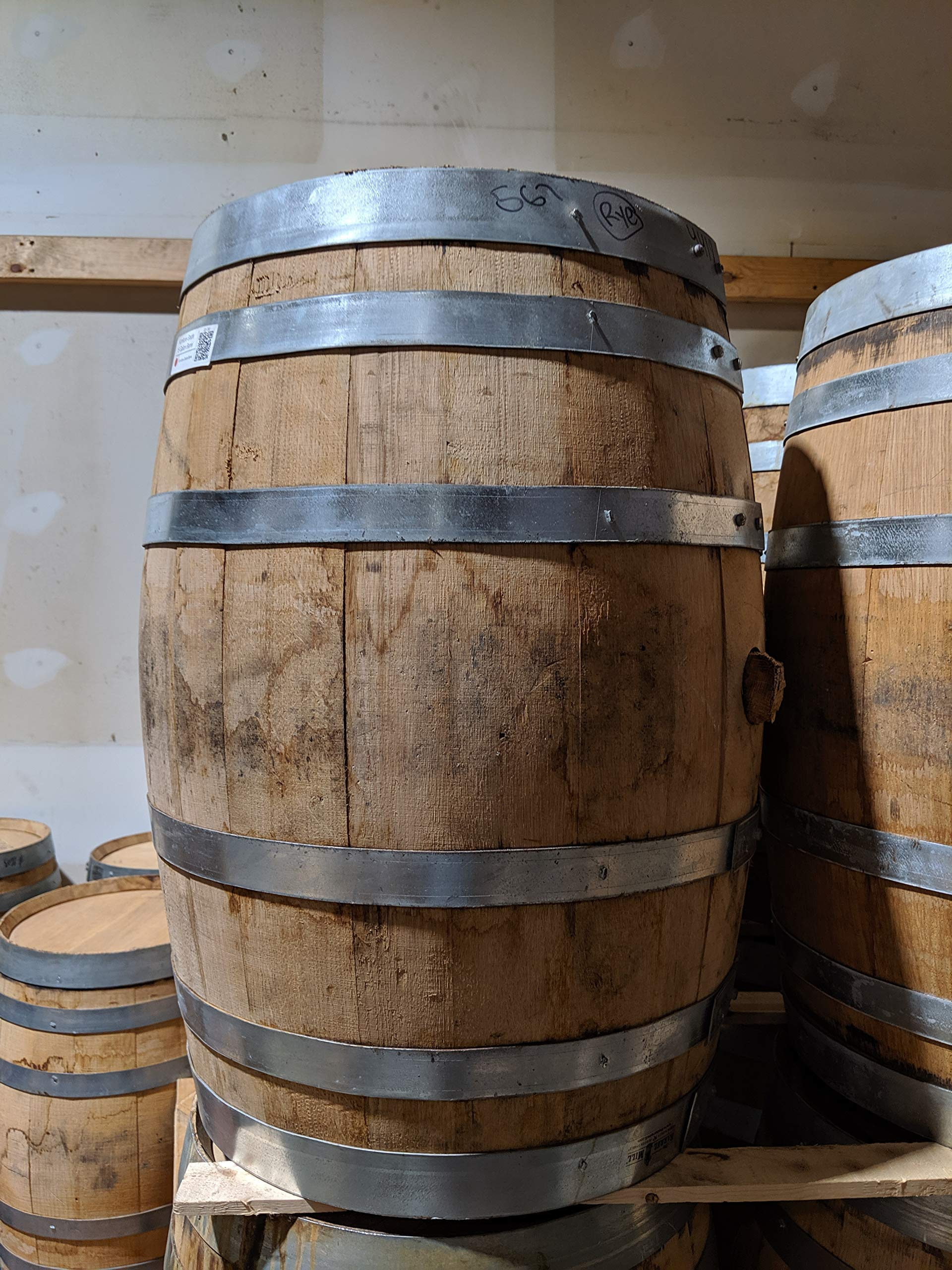 15 Gallon Decoration Grade Whiskey Barrel by Midwest Barrel Company