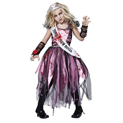 Zombie Prom Queen Costume for Kids: Toys & Games