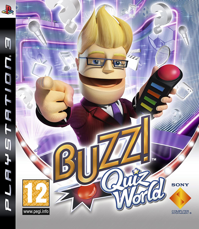 Buzz! Quiz World (PS3): Amazon co uk: PC & Video Games
