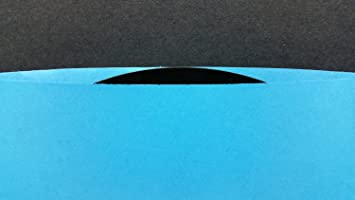 "200 Blue Paper Sleeves for 7"" 45rpm Phonograph SEVEN INCH Vinyl Records ( medium weight ) Inner Outer Covers (+ 1 free dj magnet)"