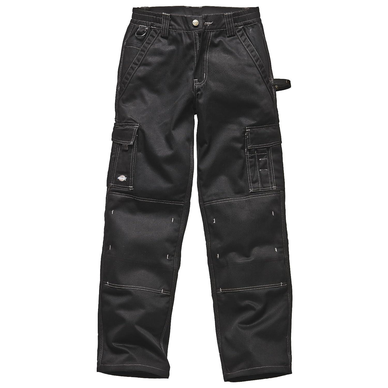 (ディッキーズ) Dickies メンズ インダストリー300 ツートーン ワークトラウザーズ 作業服ボトムス 作業着ズボン 作業用パンツ 男性用 B00K1QYBSU 38 Regular|ブラック ブラック 38 Regular