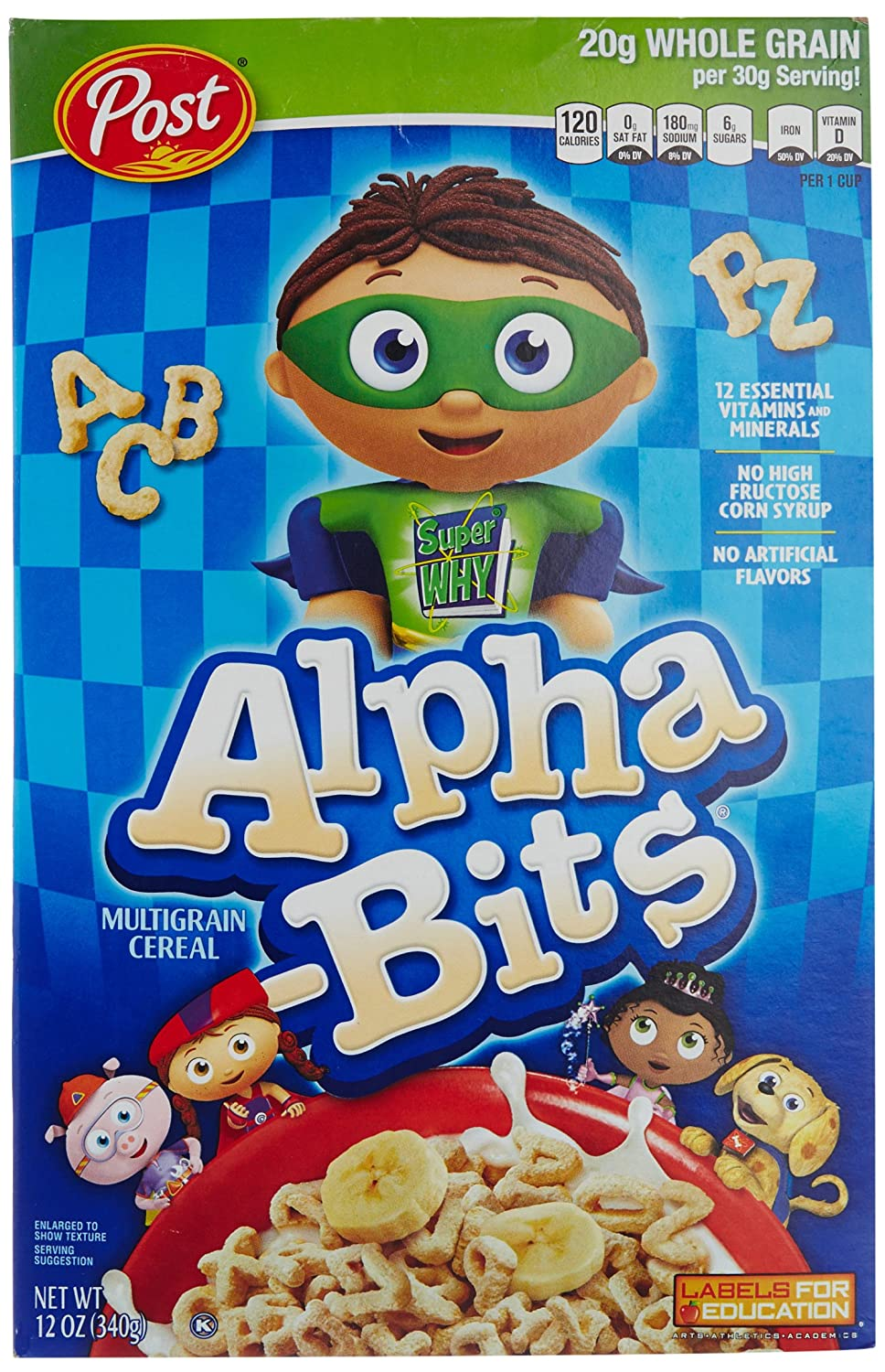 Amazon.com Post Alpha-Bits Cereal 12 -Ounce Boxes (Pack of 4) Cold Breakfast Cereals  sc 1 st  Amazon.com & Amazon.com: Post Alpha-Bits Cereal 12 -Ounce Boxes (Pack of 4 ... Aboutintivar.Com