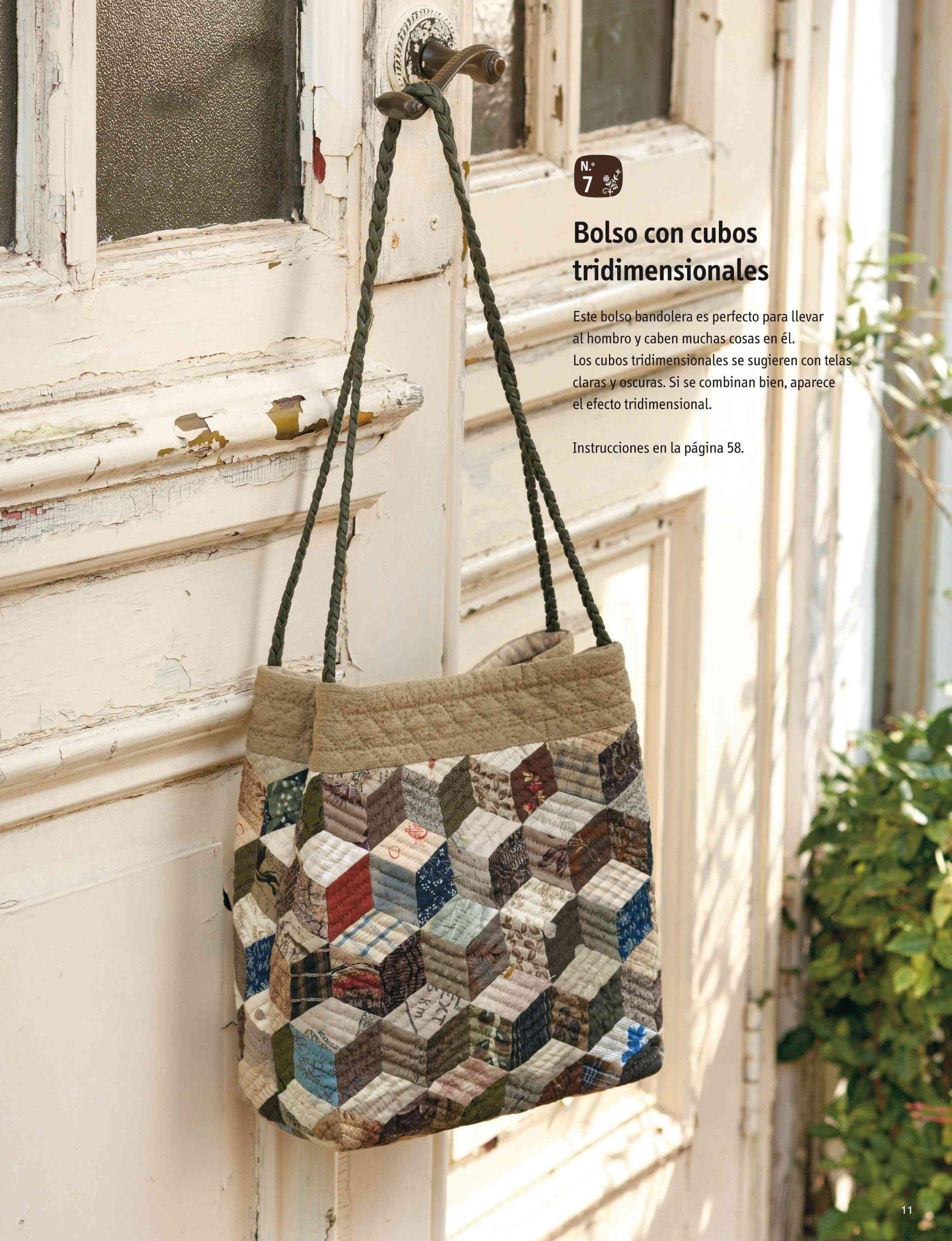 Bolsos y accesorios de patchwork japoneses: Yoko Saito ...