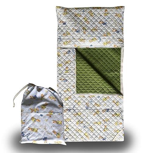Panini Tessuti - Juego de guardería, saco de dormir y bolsa guardería, para niños