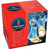 THE HEAT COMPANY Fußwärmer | 8 Stunden warme Füße | passend für alle Schuhe | extradünn | sofort einsatzbereit | 100% natürlich | selbstklebend | 5, 15 oder 40 Paar