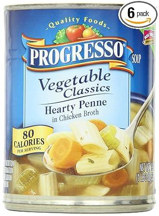Progresso Classics sopa, Penne Caldo Pollo con verduras, 19 ...