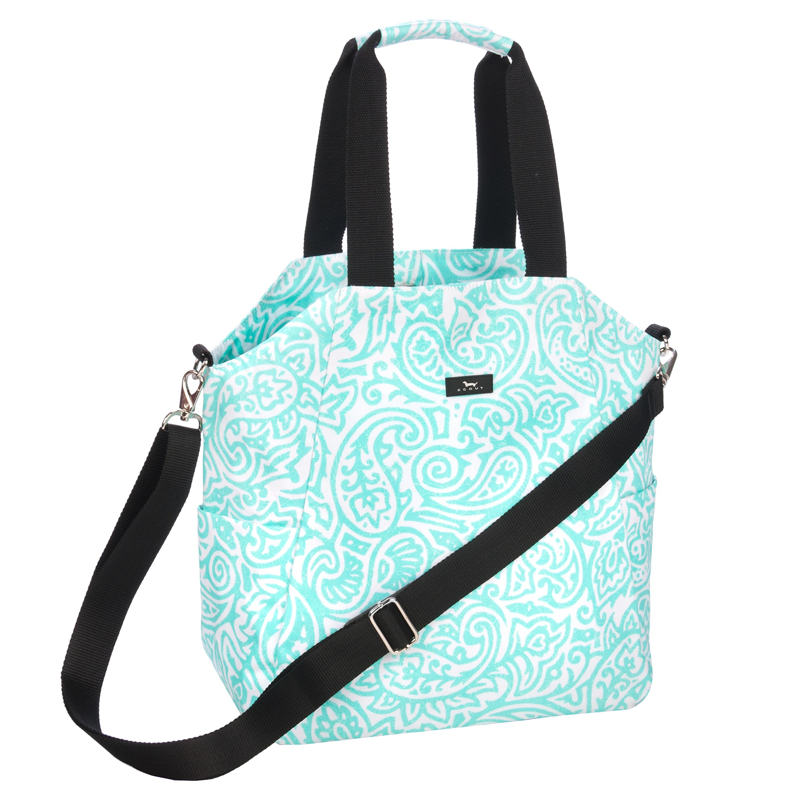 SCOUT Oh Buck It Everyday Crossbody Bag, Gym or Everyday Bag, Adjustable Strap, Water Resistant, Seaglass